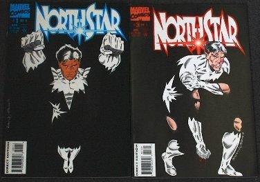 Northstar - CB563 Lot of 2 Vintage Comic Books
