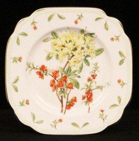 "Royal Albert ""Botanical Teas"" Plate ED906"