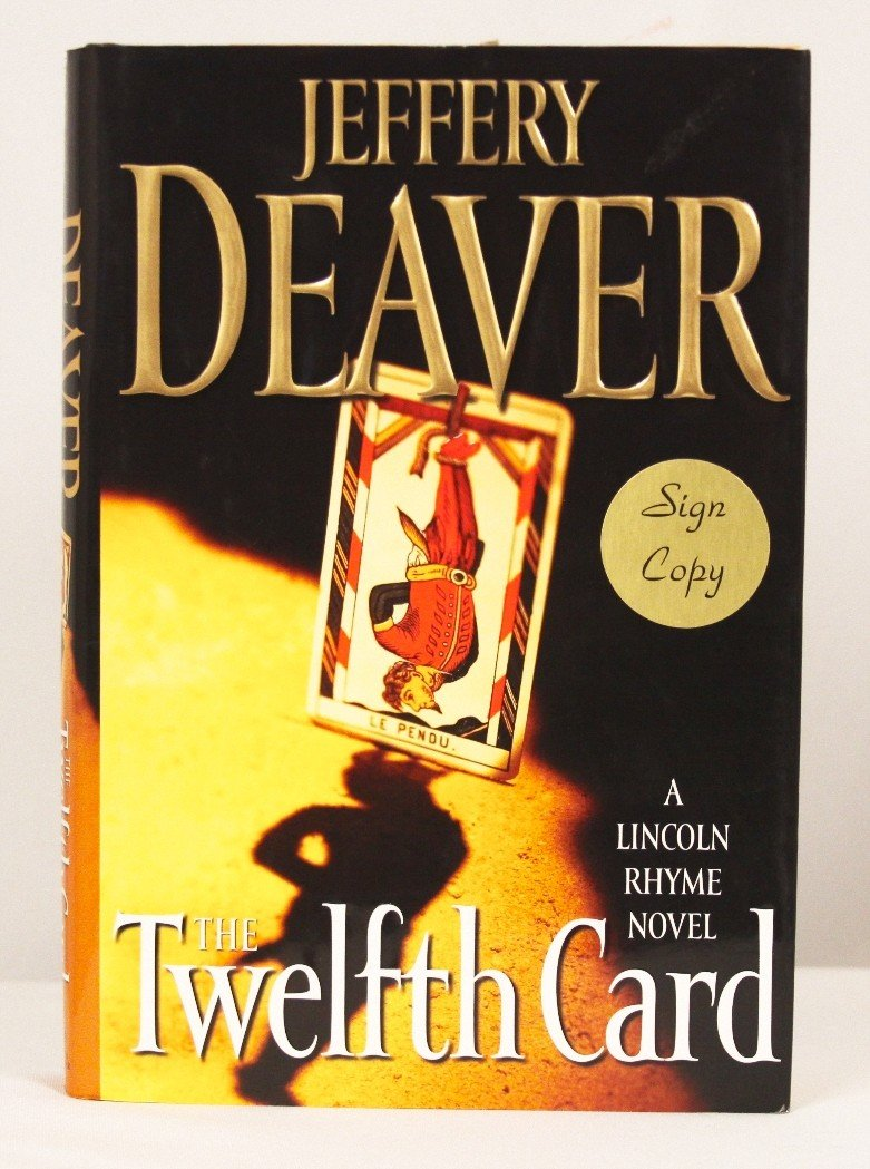 """Autographed Copy of """"The Twelfth Card"""" BK196"""