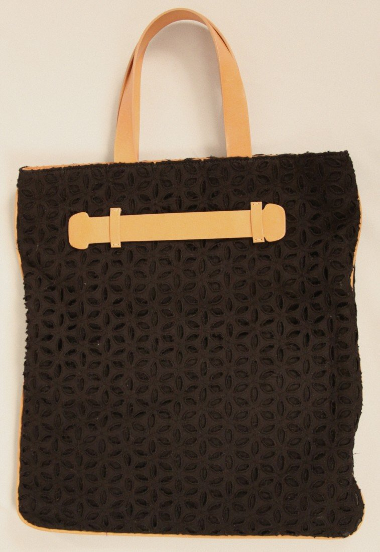 "New with Tags Derek Lam ""Nami"" Black Tote ED1213"