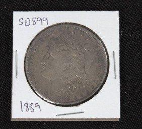 1889 Morgan Silver Dollar VG+ SD899