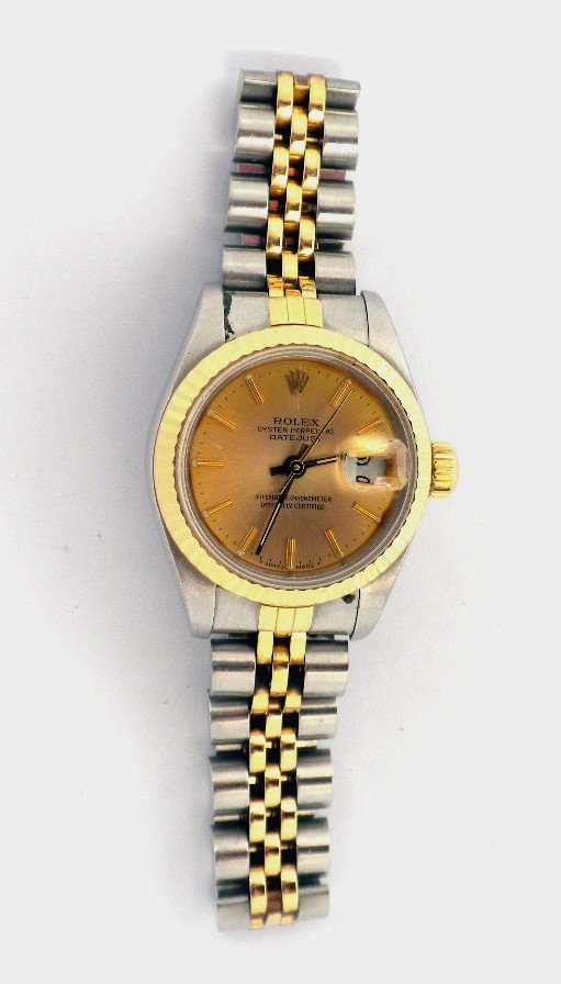 Lady Rolex Two-Tone DateJust Wristwatch A3483