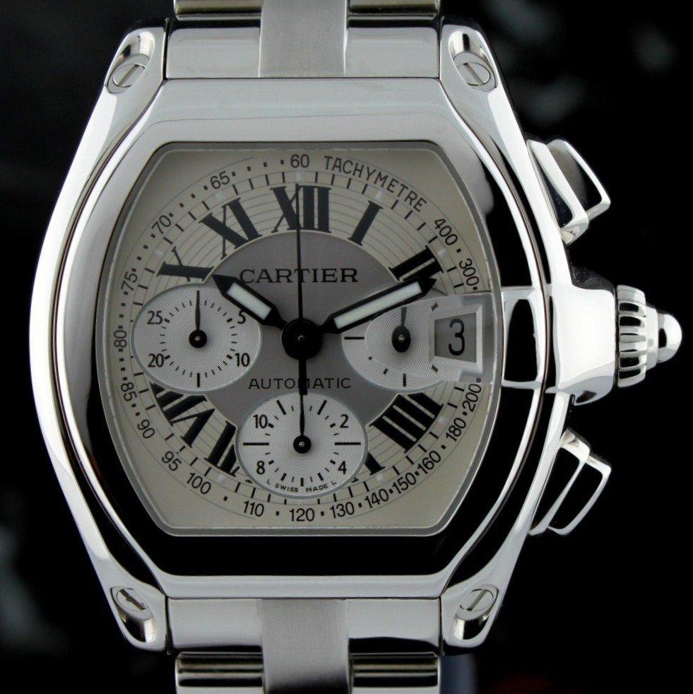 Cartier Roadster Chronograph XL Mens Wristwatch F7 - 3
