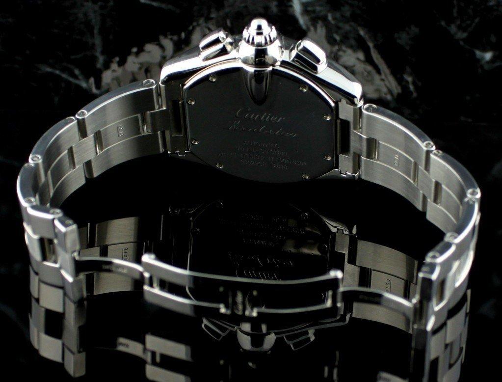 Cartier Roadster Chronograph XL Mens Wristwatch F7 - 4