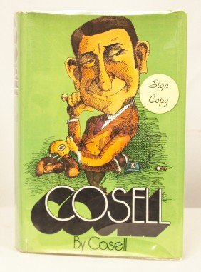 """Autographed Copy Of """"Cosell"""" BK96"""