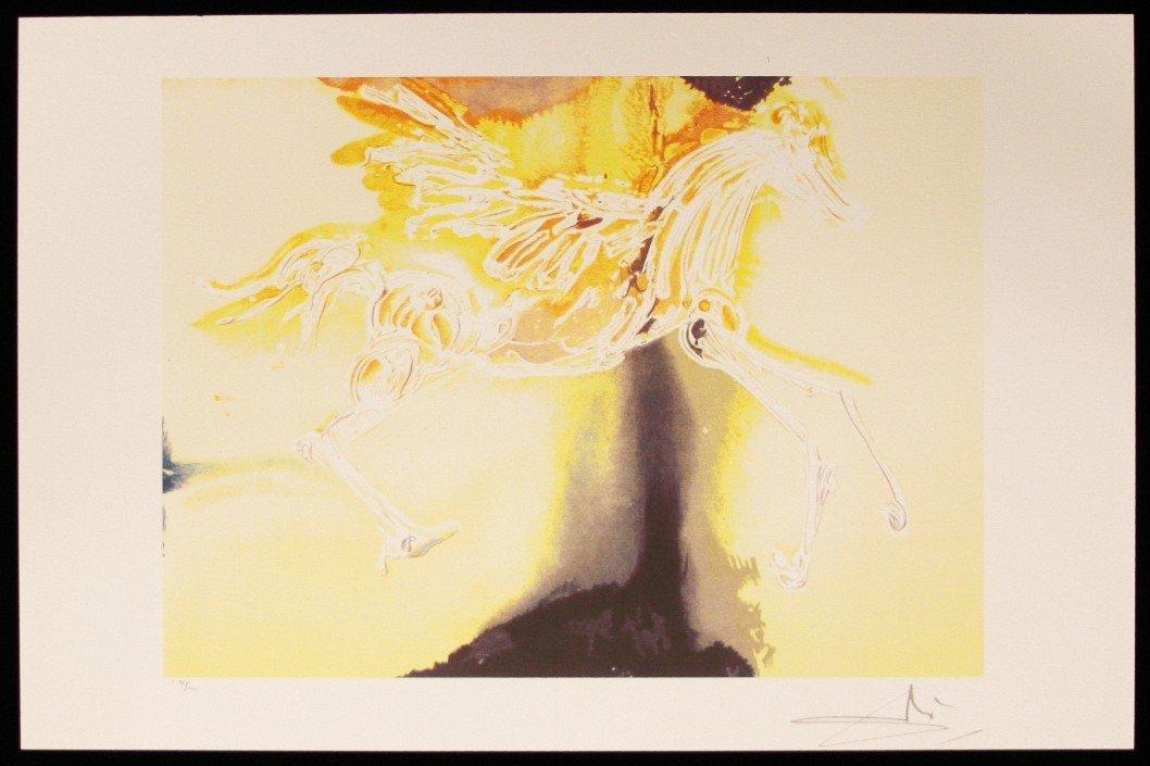 "Salvador Dali ""Pegasus"" Fine Art Print AP465"