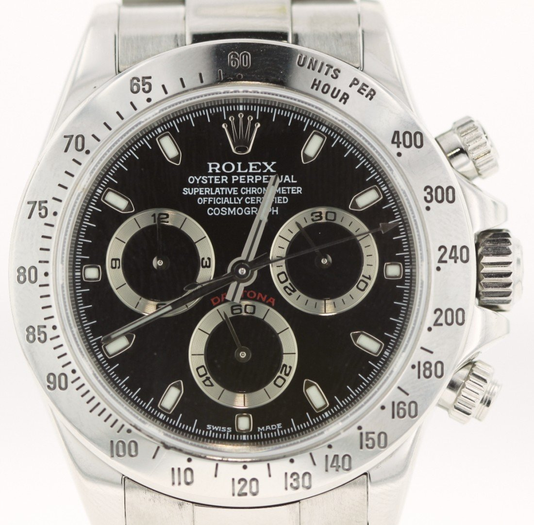 Rolex Daytona Stainless Steel Watch Cosmograph #116520