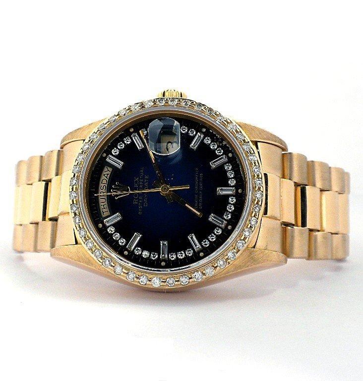 Gents Rolex 18KT Gold DayDate Wristwatch A3687