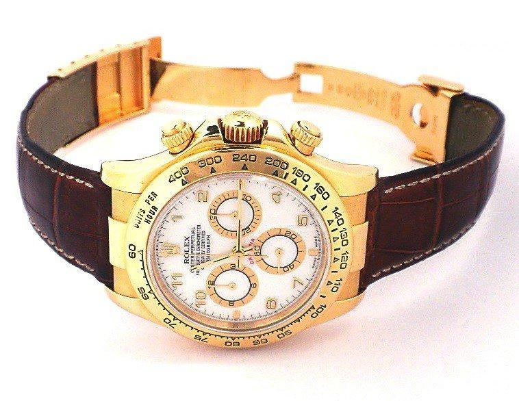 Gents Rolex 18KT Gold Daytona Wristwatch A3677