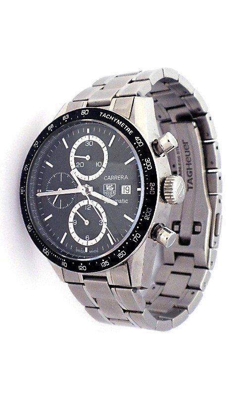 Tag Heuer Carrera Chronograph Wristwatch WBS62