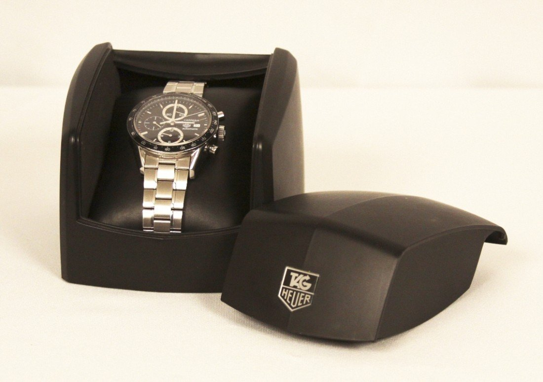 Tag Heuer Carrera Chronograph Wristwatch WBS62 - 2