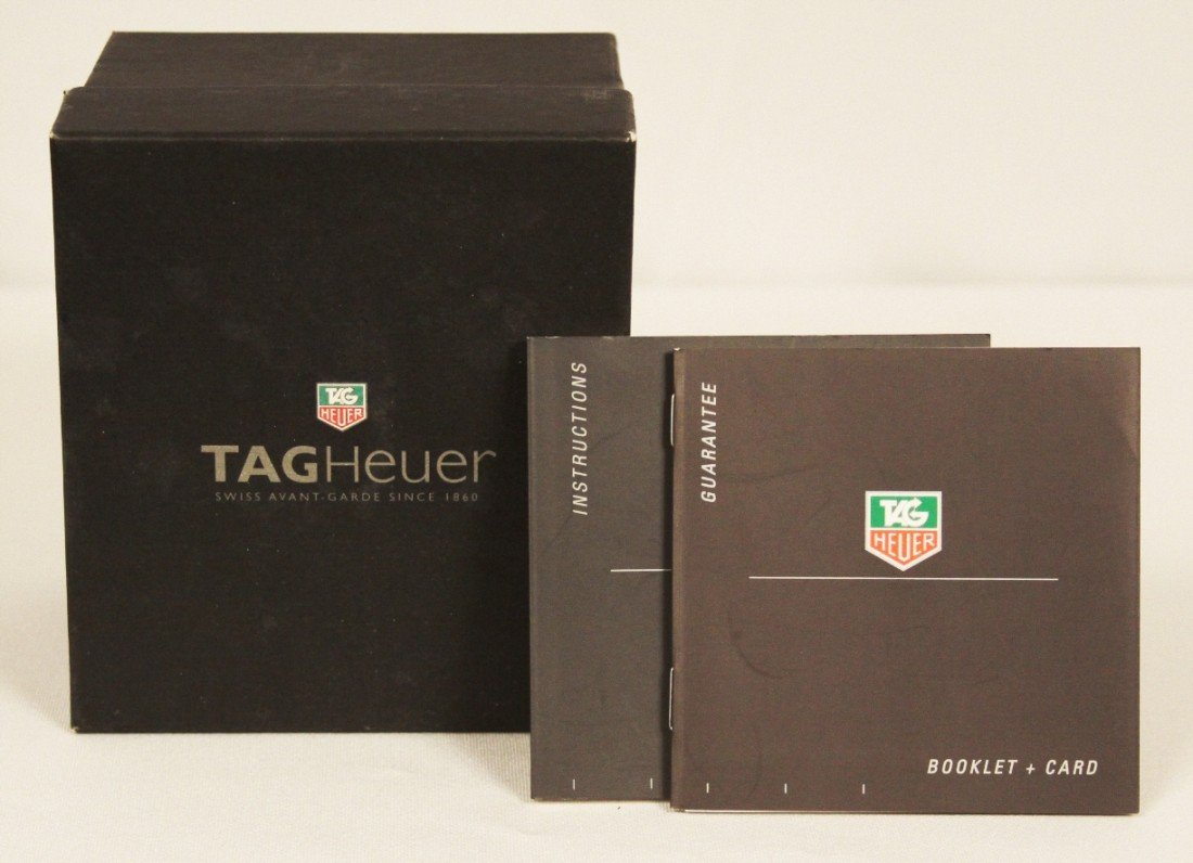 Tag Heuer Carrera Chronograph Wristwatch WBS62 - 3