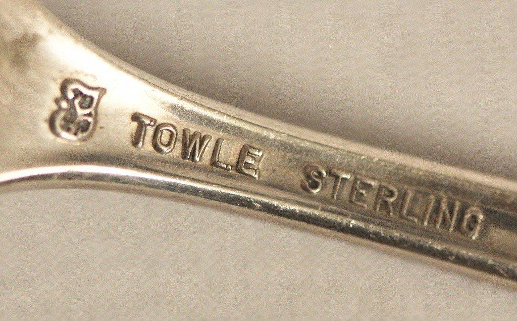 Vintage Towle Medeira Sterling Flatware Service ED1090 - 6