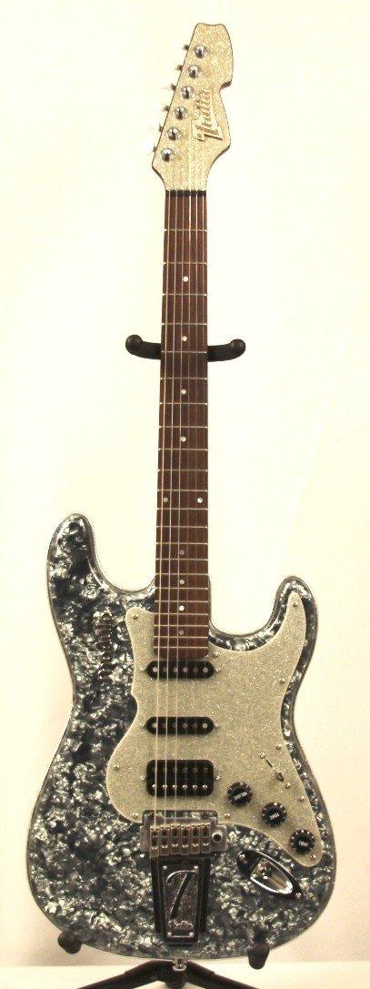Italia Abalone Fat Stratocaster Modulo Electric Guitar