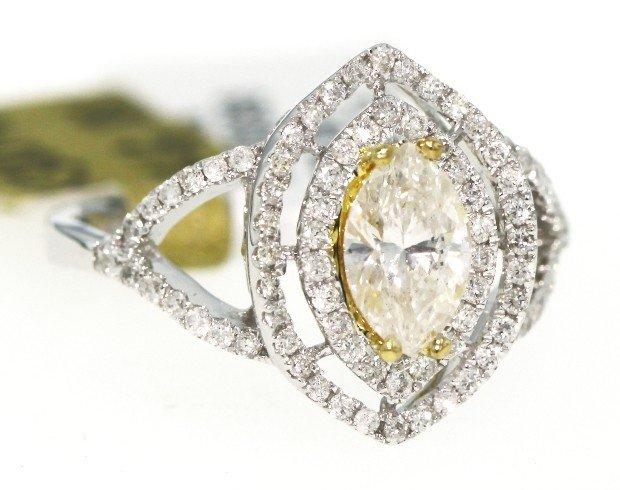 18KT White Gold 1.12ct Diamond Ring RM305