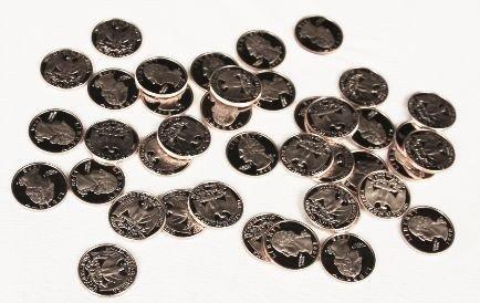 1998-S Proof Quarter Coins (40) CT50