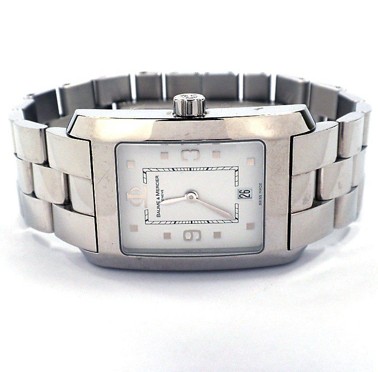 Gents Baume and Mercier Stainless Steel Hampton Watch A