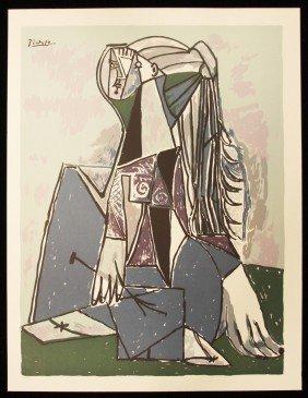 "Picasso ""The Thinker"" Fine Art Print AP454"