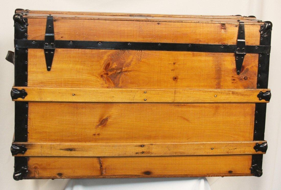 Antique Victorian Steamer Trunk/Chest ED1161 - 2