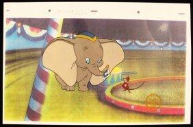 "Walt Disney ""Dumbo"" Ltd Ed Serigraph Cel DisneySeri172"