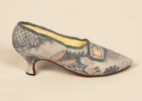"""Miniature Porcelain 'Just The Right Shoe' """"Lavish Tapes"""