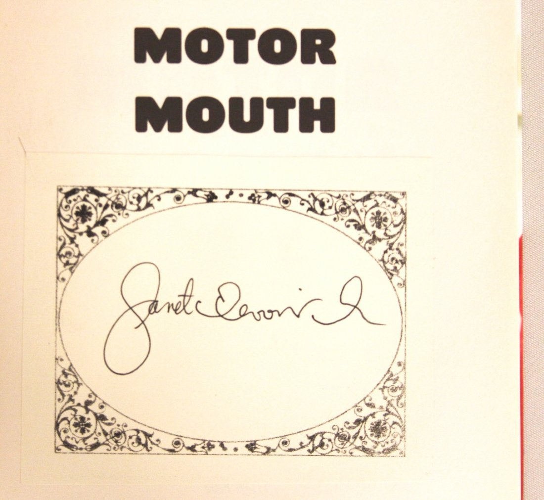 "Autographed Copy of ""Motor Mouth"" BK185 - 2"