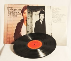 "Bruce Springsteen ""Darkness On The Edge Of Town"" Vinyl"
