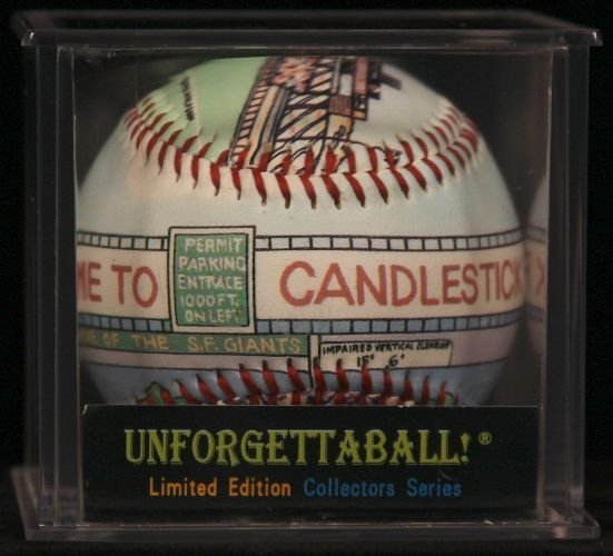 "Unforgettaball! ""Candlestick Park"" Collectable Baseball"