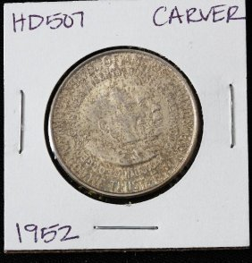 1952 Carver Washington Silver Half Dollar HD507