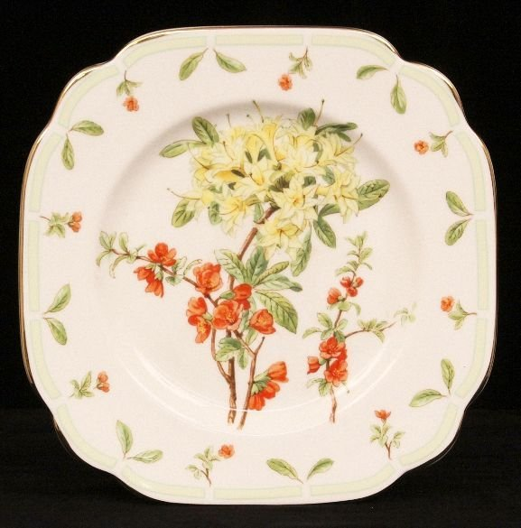 "Royal Albert ""Botanical Teas"" Plate ED907"