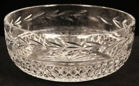 Waterford Glandore Round Crystal Bowl WBL28