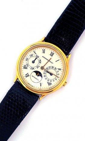 18KT Gold Audemars Piguet Classic Round Day Date Moon P