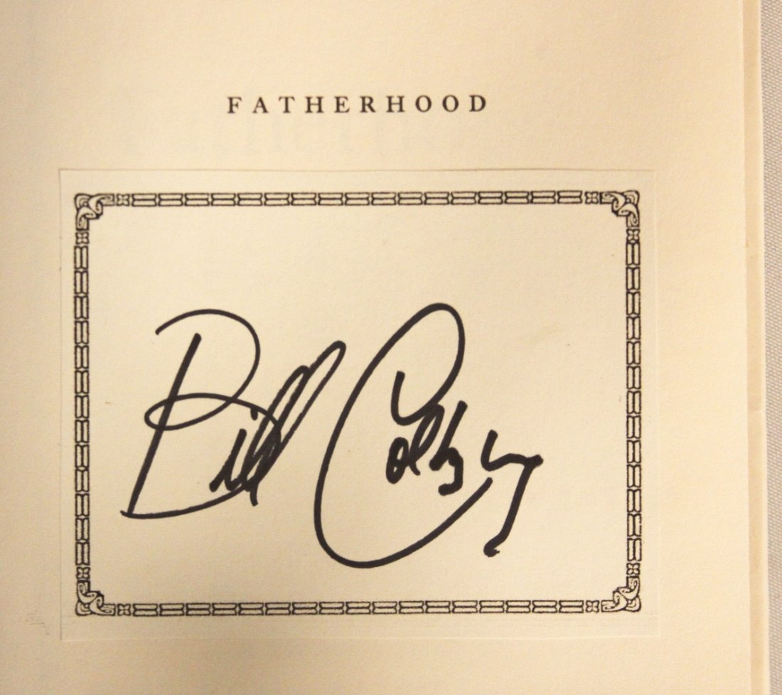 "Autographed Copy of ""Fatherhood"" BK115 - 2"