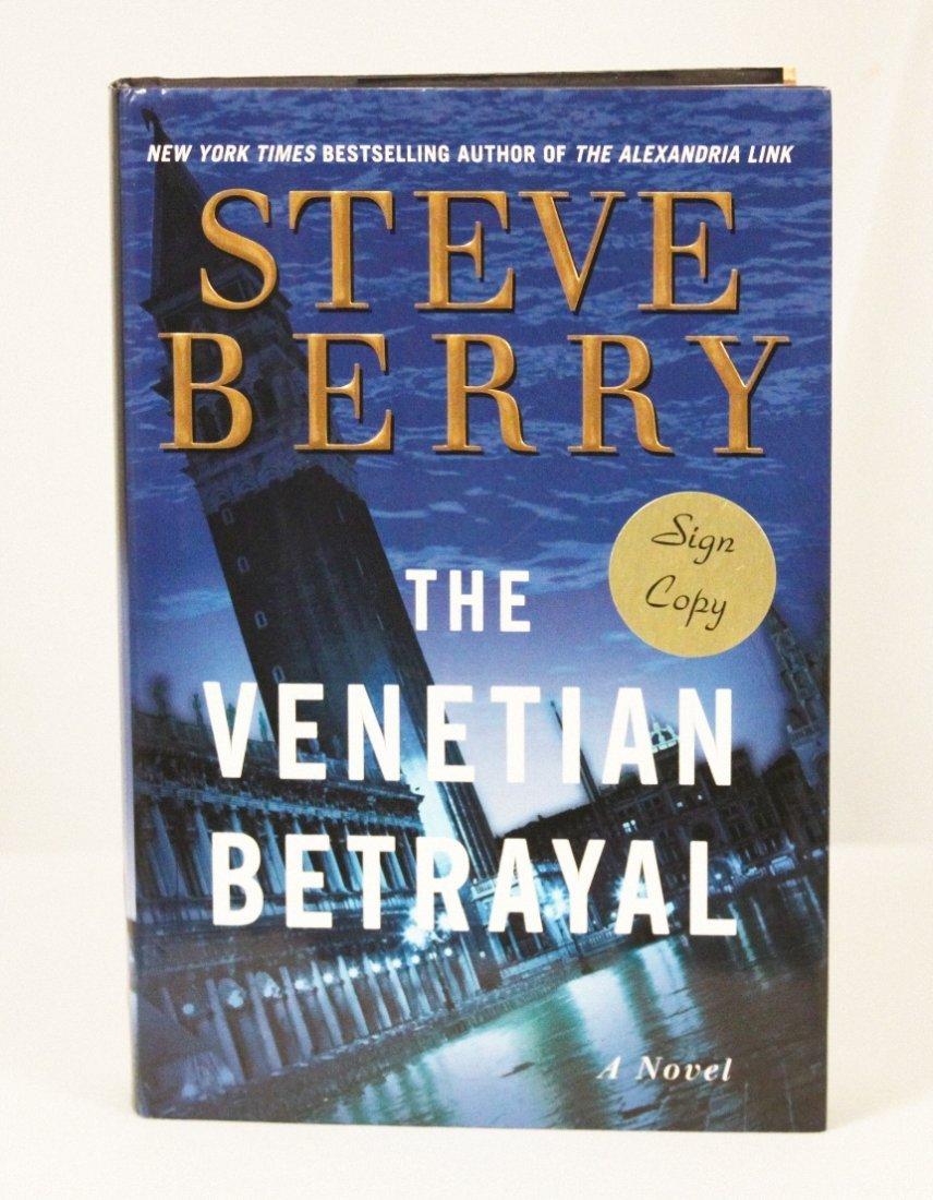 "Autographed Copy of ""The Venetian Betrayal"" BK52"
