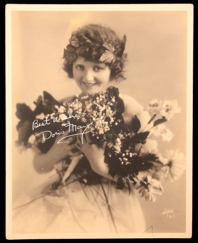 Authentic Doris May Signed Photo ED1130