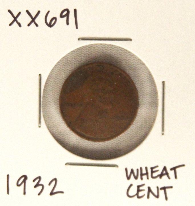 1932 Wheat Cent XX691