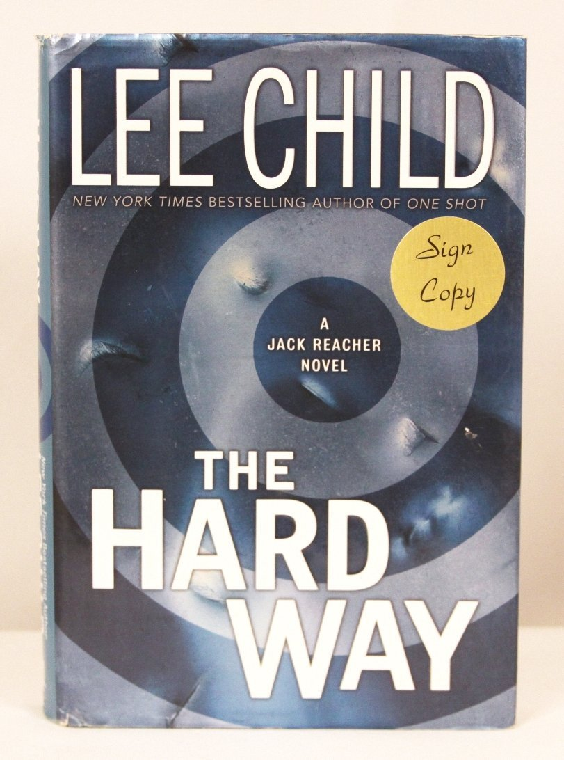 """Autographed Copy of """"The Hard Way"""" BK155"""