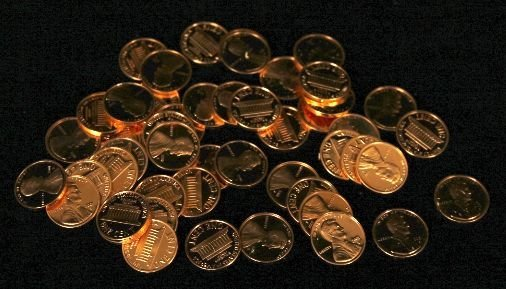 2001-S Proof Penny Cent Coins (50) CT17