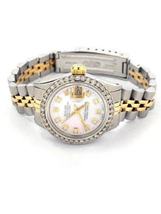 Lady Rolex Two-Tone DateJust Wristwatch A3755
