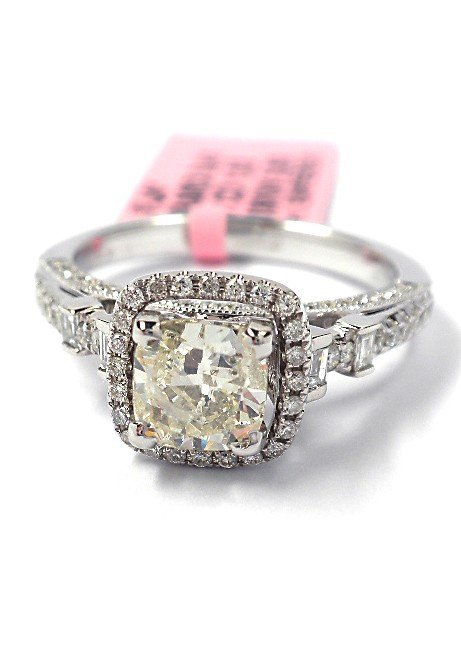 14KT White Gold 1.44tcw Diamond Unity Ring FJM1634