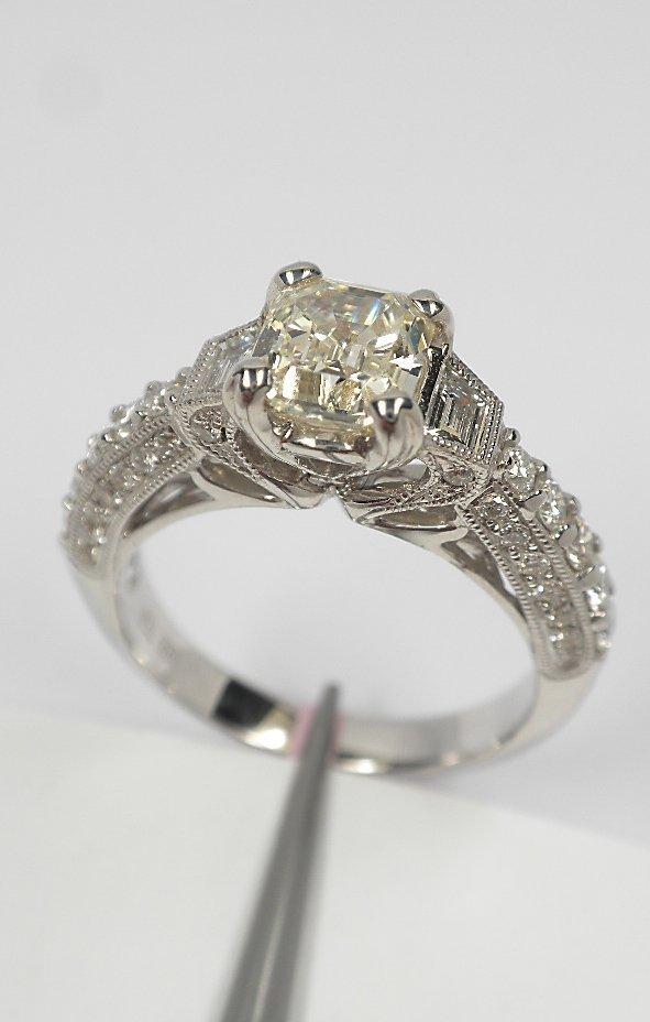 18KT White Gold 1.81tcw Diamond Unity Ring FJM1636