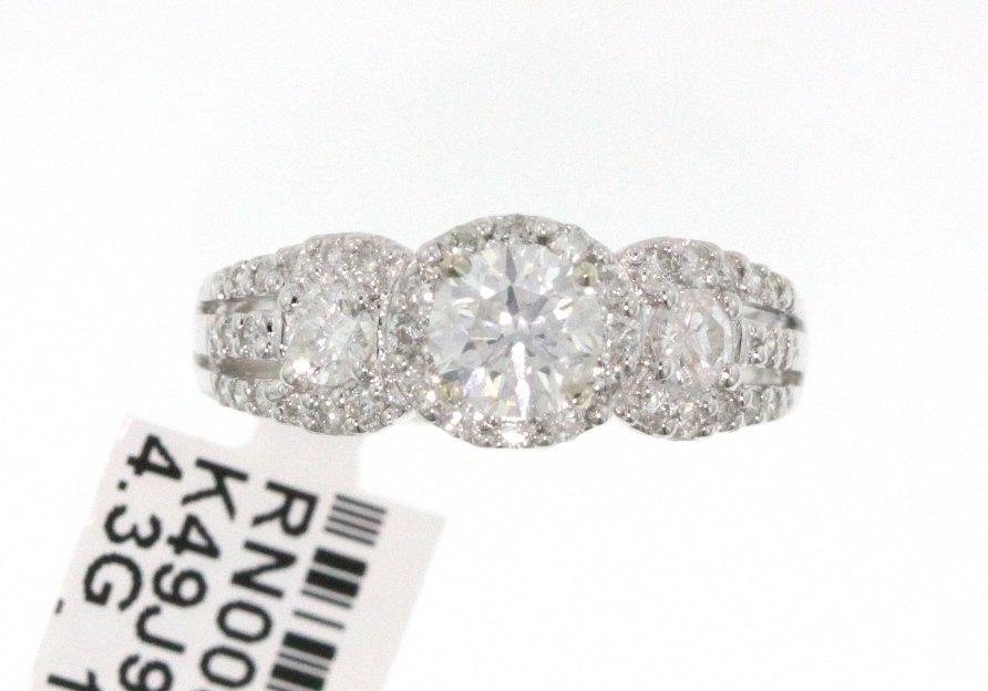 14KT White Gold 1.35ct Diamond Ring RM457