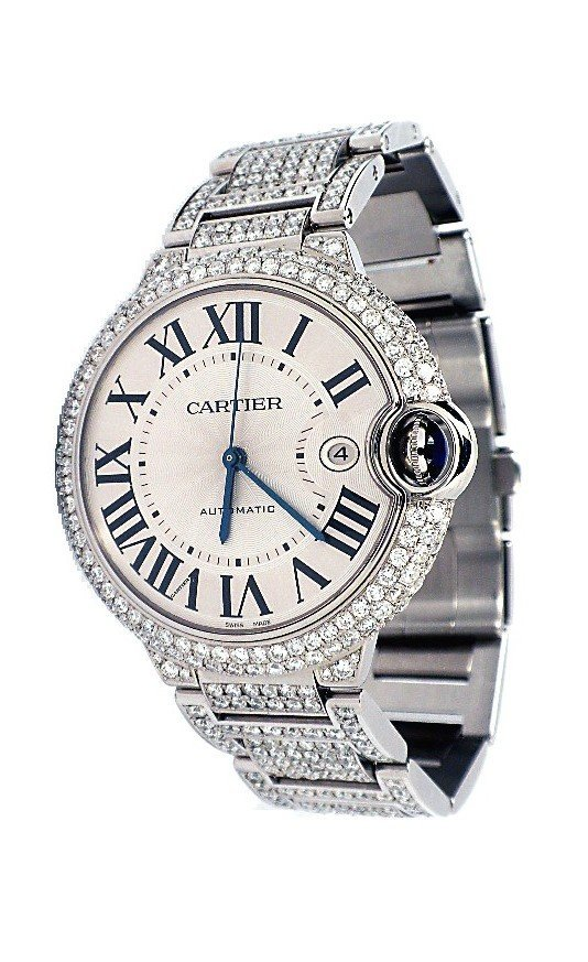 Mens Ballon Bleu de Cartier Wristwatch A3842