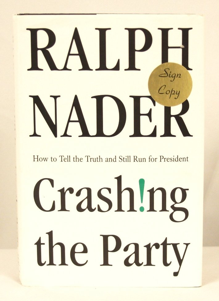 """Autographed Copy of """"Crash!ng the Party"""" BK142"""