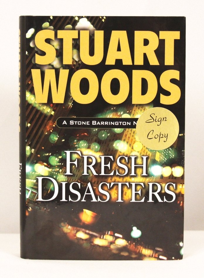 """Autographed Copy of """"Fresh Disasters"""" BK169"""