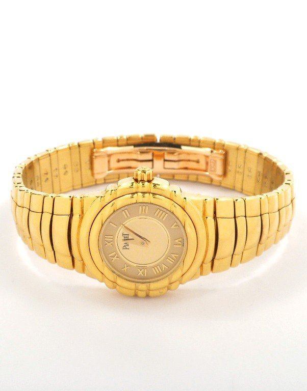 18KT Yellow Gold Piaget Tanagra Wristwatch A3851