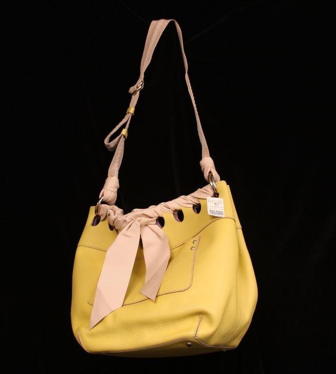 "NWT Nina Ricci ""Capucine"" Bucket Bag ED737"