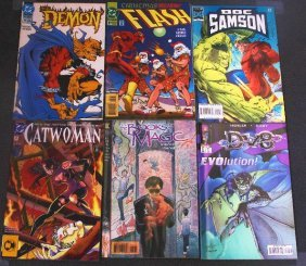 Assorted - CB672 Lot Of (6) Vintage Comic Books