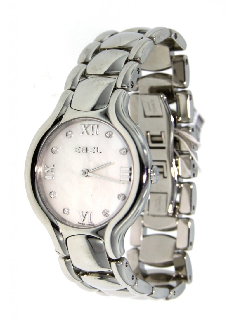 Ladies Ebel Beluga Grande Dame XL Wristwatch GB9