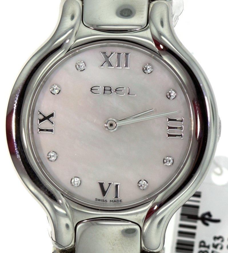 Ladies Ebel Beluga Grande Dame XL Wristwatch GB9 - 2